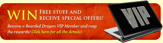 Become a Bearded Dragon VIP Member