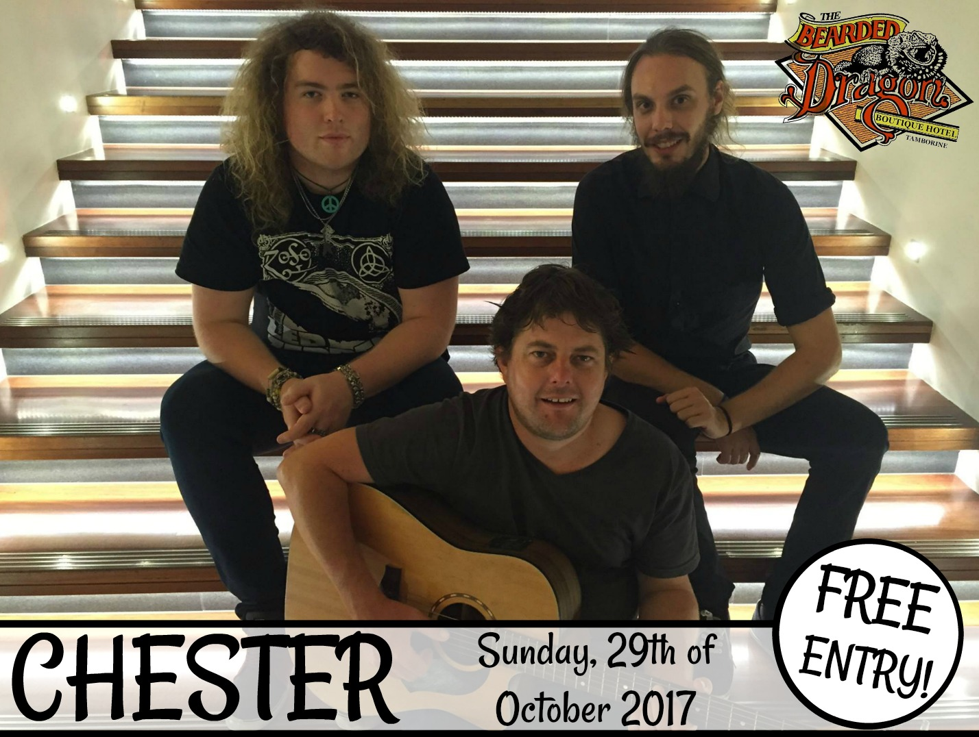 Live & Loud CHESTER Band Sunday Tamborine