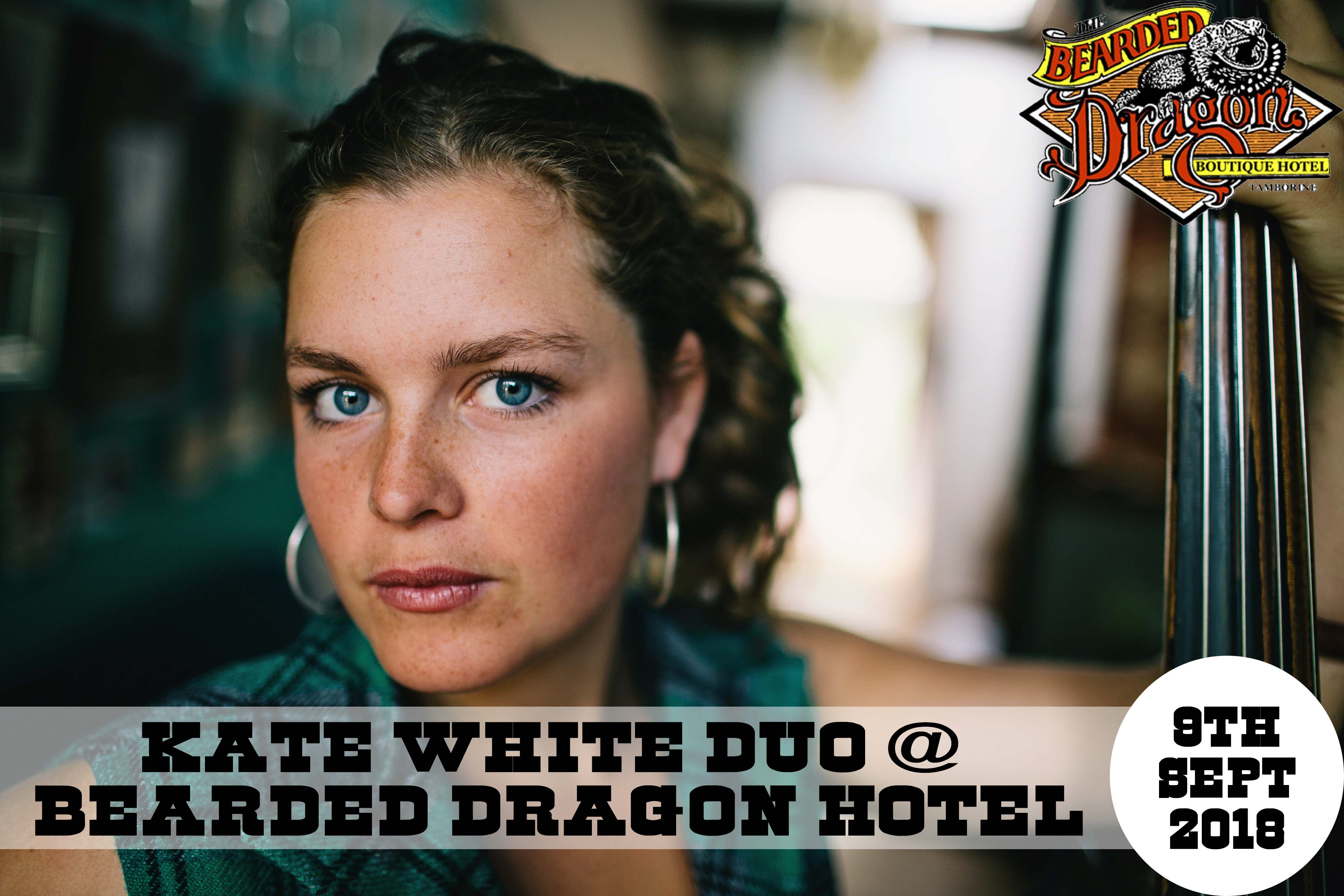 Katie J White Duo! Live Music Sunday + Croc Show!
