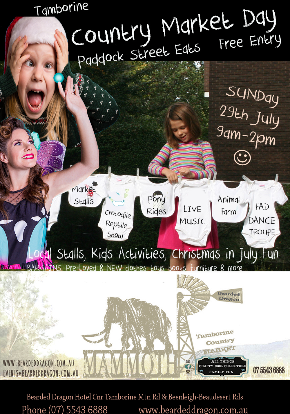 Annual Tamborine Mammoth Country Market